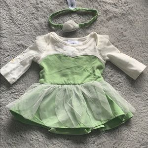 Tinkerbell Disney baby costume dress